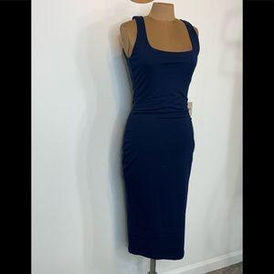 SuperDown Carlina Blue Body Con Dress Size Large